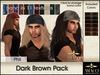 Amacci Hair ~ Phil - Dark Brown Pack