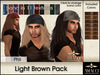 Amacci Hair ~ Phil - Light Brown Pack