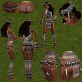 While Dreams. OUTFIT/ENSEMBLE AQUENE - Indian Native amerindian - While Swot