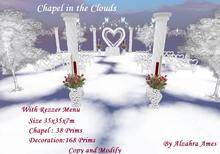 Chapel in the Clouds by Alzahra Ames