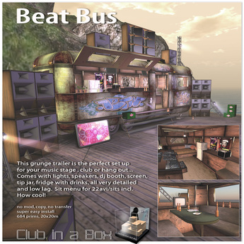 Club in a Box: Beat Bus