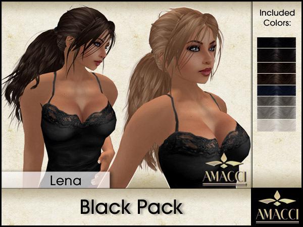 Amacci Hair ~ Lena - Black Pack