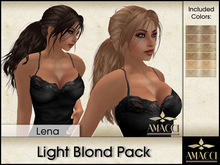 Amacci Hair ~ Lena - Light Blond Pack