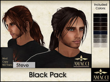 Amacci Hair ~ Steve - Black Pack