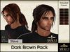 Hair steve darkbrown