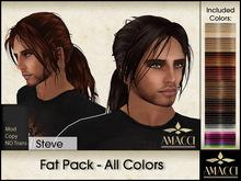 Amacci Hair ~ Steve - Fat Pack All Colors