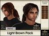 Amacci Hair ~ Steve - Light Brown Pack