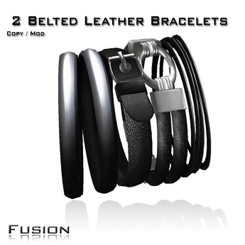 :Fusion: Belted Multi Bracelets Unisex