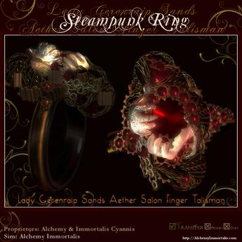 Lady Gerenraip Sands Aether Salon Finger Talisman