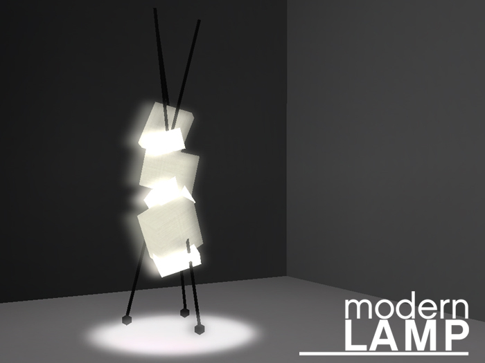 Second Life Marketplace Kimiko Floor Lamp