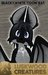 Luskwood LuskToons Black And White Bat Avatar - Complete Furry Avatar