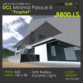 *** DCL Minimal Palace III PROPHET