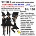 OnP Costume Witch 2 with broom