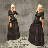 Jade Taupe Dress by Eruption TagFantasy