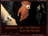 "Amaranthus ""Love Lies Bleeding"" Wrist Talisman (unisex)"