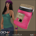 DCNY Basic Tank Tops Pkg. of 2 in Cerise & Black *Includes Tango Appliers!*