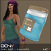 DCNY Basic Tank Tops Pkg. of 2 in Ocean & White *Includes Tango Appliers!*