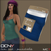DCNY Basic Tank Tops Pkg. of 2 in Peacock & White *Includes Tango Appliers!*