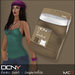 DCNY Basic Tank Tops Pkg. of 2 in Taupe & White *Includes Tango Appliers!*