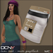 DCNY Basic Tank Tops Pkg. of 2 in Warm Grey & Black *Includes Tango Appliers!*
