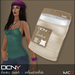 DCNY Basic Tank Tops Pkg. of 2 in Wheat & White *Includes Tango Appliers!*