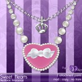 {Violet Voltaire} SweetHearts Innocence Necklace