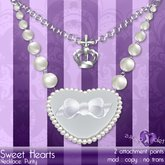 {Violet Voltaire} SweetHearts Purity Necklace