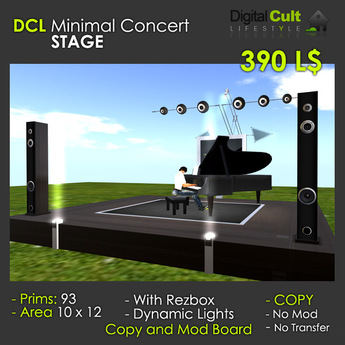 *** DCL Minimal Concert Stage