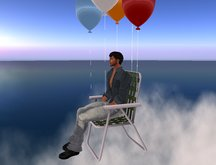 Flying Lawn Chair Furniture Hot Air Balloon Sale PROMO