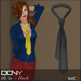 DCNY The Tie in Black