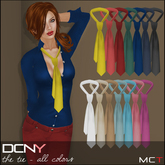 DCNY The Tie All Colors, 14 Neck Ties