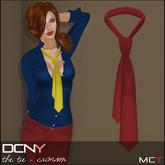 DCNY The Tie in Crimson