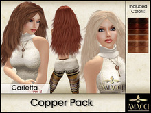 Amacci Hair ~ Carletta - Copper Pack