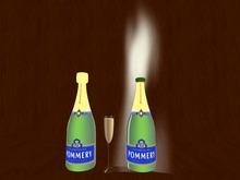 Champagner Bottle