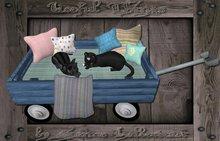 Pet Cart, Handwagon #3 with Pillows
