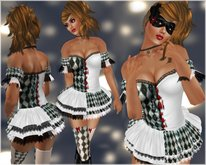!BH-Harlequin Outfit -