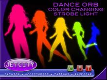 Jetcity - Dance Orb-Color Changing Strobe Light