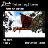 The Yukon 1024 Log Cabin (Copy Version)