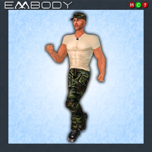 Embody Pose M BOOT CAMP 3