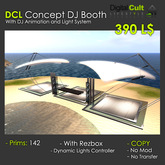 *** DCL Concept DJ Booth - With Dance Platforms