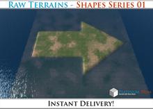 50% OFF SALE! RAW-Datei Terrain: Formen