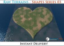 50% OFF SALE! RAW Terrain File: Shapes