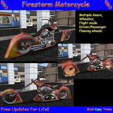 """(DGD) """"Firestorm"""" Motorcycle (BOXED)"""