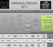 * TD TEMPLATES * Wrinkles / Creases Brushes Set 1