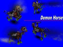 demon horse caballo demonio