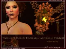 Waxwing Damsel Encantado Talismanic Pendant (WAS $175 -> NOW ONLY $45!)