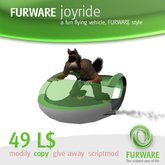 FURWARE joyride - Flying fun vehicle
