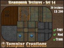 Steampunk Textures - Set 14