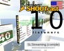 SHOUTcast server 10 listeners 24h US