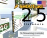 SHOUTcast server 25 listeners ONE MONTH 30 days US